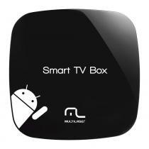 Smart Tv Box Multilaser Android 1Gb Ram+8Gb Flash Entrada Hdmi Aml-S80 - NB103 - Neutro - Multilaser