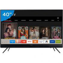 "Smart TV LED 40"" Samsung Full HD 40K5300 - Conversor Digital 2 HDMI 1 USB Wi-Fi"