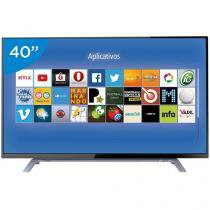 "Smart TV LED 40"" Toshiba 40L2500 - Conversor Digital 2 HDMI 1 USB DTVi"