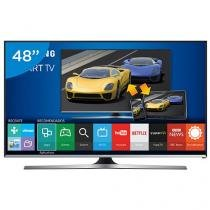 "Smart TV LED 48"" Samsung Full HD Gamer J5500 - Conversor Digital Wi-Fi 3 HDMI 2 USB"