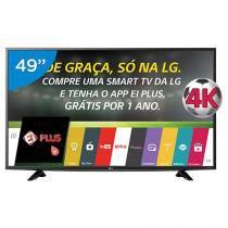 "Smart TV LED 49"" 4K LG 49UF6400 Ultra HD - Conversor Integrado 2 HDMI 1 USB Wi-Fi"