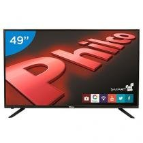 "Smart TV LED 49"" Philco PH49U21DSGW - Conversor Digital 3 HDMI 2 USB"