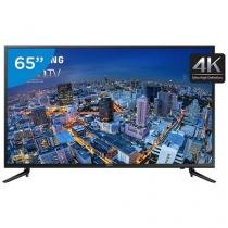 "Smart TV LED 65"" Samsung 4k/Ultra HD Gamer - UN65JU6000 Conversor Digital Wi-Fi 3 HDMI 2 USB"