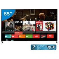 "Smart TV LED 65"" Sony 4k/Ultra HD 3D XBR-65X905C - Conversor Digital Óculos Wi-Fi 4 HDMI"