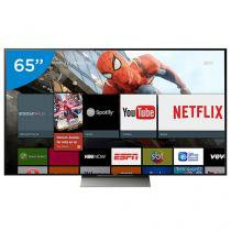 "Smart TV LED 65"" Sony 4K/Ultra HD 3D XBR-65X935D - 1 Óculos Wi-Fi 4 HDMI 3 USB"