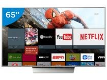 "Smart TV LED 65"" Sony 4K/Ultra HD XBR-65X855D - Conversor Digital Wi-Fi 4 HDMI 3 USB"