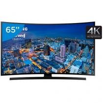 "Smart TV LED Curva 65"" Samsung 4k/Ultra HD Gamer - UN65JU6700 Wi-Fi 4 HDMI 3 USB"