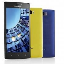 Smartphone 4G 16GB Quad Core Preto MS60 - Multilaser - Multilaser