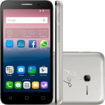 Smartphone Alcatel  OT-5016J POP 3  5 Preto com Capa Prata - Alcatel