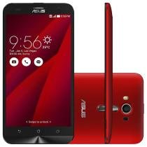 """Smartphone ASUS ZenFone 2 Laser Desbloqueado 5,5"""" 16GB 4G Câmera Frontal Dual Chip Android 5.0 - Vermelho - Asus"""