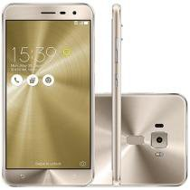 "Smartphone Asus ZenFone 3 64GB Gold Dual Chip 4G - Câm. 16MP + Selfie 8MP Tela 5,5"" Proc. Qualcomm"