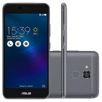 "Smartphone Asus ZenFone 3 Max 16GB Cinza Espacial - Dual Chip 4G Câm. 13MP + Selfie 5MP Tela 5.2"""