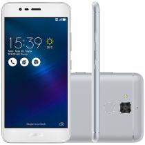 """Smartphone Asus ZenFone 3 Max 16GB Prata - Dual Chip 4G Câm. 13MP + Selfie 5MP Tela 5.2"""""""