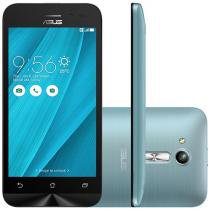"Smartphone Asus ZenFone Go 8GB Azul Dual Chip - 3G Câm. 5MP Tela 4.5"" Proc. Quad Core"