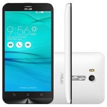 "Smartphone Asus ZenFone Go Live 16GB Branco - Dual Chip 4G Câm. 13MP + Selfie 5MP Tela 5.5"" HD"