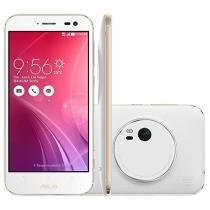 "Smartphone Asus ZenFone Zoom 128GB Branco 4G - Câm. 13MP + Selfie 5MP Tela 5.5"" Intel Quad Core"