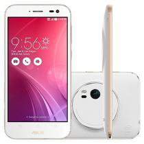 Smartphone Asus ZenFone Zoom 64GB Branco - Dual Chip 4G Câm. 13MP + Selfie 5MP Tela 5.5""
