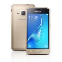 """Smartphone Galaxy J-120 Dual Quad Core 1.2Ghz 4.5"""" Dourado - Samsung - Samsung"""