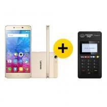 Smartphone Lenovo Vibe K5 + Leitor Point H - A Máquina de Cartão do Mercado Pago - Lenovo