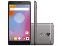 "Smartphone Lenovo Vibe K6 Plus 32GB Grafite - Dual Chip 4G Câm. 16MP + Selfie 8MP Tela 5,5"""