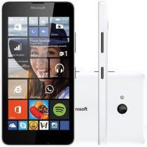 "Smartphone Microsoft Lumia 640 Dual Sim DTV 8GB - Dual Chip 3G Câm. 8MP Tela 5"" Proc. Quad Core"