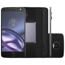 Smartphone Motorola Moto Z Power & Projector - Edition 64GB Preto e Grafite Dual Chip 4G Câm 13MP