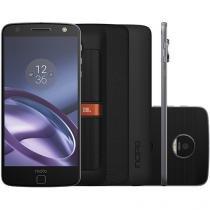 Smartphone Motorola Moto Z Power & Sound Edition - 64GB Preto e Grafite Dual Chip 4G Câm. 13MP
