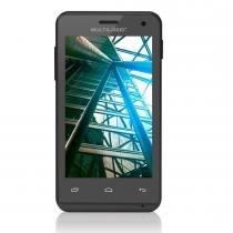 Smartphone MS40 Quad Core 1.2 Ghz Preto NB226 - Multilaser - Multilaser