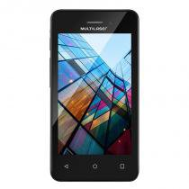Smartphone MS40S Quad Core 1.2 Ghz Preto NB251 - Multilaser - Multilaser