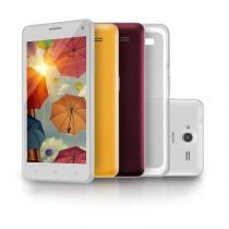 """Smartphone MS50 5 Colors Tela 5"""" 8.0MP 3G Quad Core 8GB Android 5.0 Branco Multilaser  - P9031 - Neutro - Multilaser"""