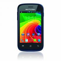"Smartphone Multilaser MS2 Azul Dual Chip Tela 3.5"" Android 4.2 - NB218 - Neutro - Multilaser"