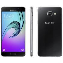 """Smartphone Samsung A5 2016 Duos 16GB Preto - Dual Chip 4G Câm.13MP + Selfie 5MP Tela 5.2"""""""