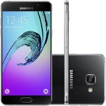 Smartphone Samsung Galaxy A5 2016 Duos 16GB Preto - Dual Chip 4G Câm. 13MP + Selfie 5MP Desbl. Tim