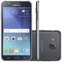 "Smartphone Samsung Galaxy J7 Duos 16GB Preto - Dual Chip 4G Câm 13MP + Selfie 5MP Flash Tela 5.5"""