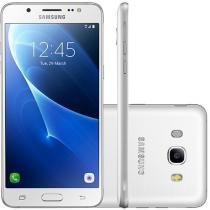 Smartphone Samsung Galaxy J7 Metal 16GB Branco - Dual Chip 4G Câm 13MP + Selfie 5MP Flash Tela 5,5""