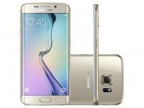 "Smartphone Samsung Galaxy S6 Edge 32GB 4G - Câm. 16MP + Selfie 5MP Tela 5.1"" Proc. Octa Core"