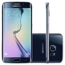 "Smartphone Samsung Galaxy S6 Edge 32GB Preto 4G - Câm. 16MP + Selfie 5MP Tela 5.1"" WQHD Octa Core"