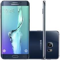 "Smartphone Samsung Galaxy S6 Edge+ 32GB Preto 4G Câm. 16MP + Selfie 5MP Tela 5.7"" Proc. Octa Core"