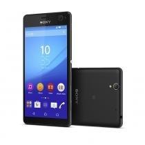 """Smartphone Sony Xperia C4 Preto Dual, Android 5.0 (Lollipop), Tela 5,5"""", Câmera 13 MP, DTV, Memória 16GB, Processador octa-core de 1,7 GHz - Sony"""