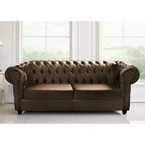 Sofá 3 Lugares Couríssimo Master New Chesterfield - Castor