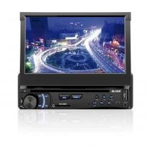 "Som Automotivo DVD Player Multilaser Blade Tela 7"" Retrátil USB e SD - P3295 - Neutro - Multilaser"