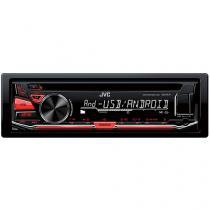 Som Automotivo JVC KD-R471 CD Player - MP3 Player Rádio AM/FM Entrada USB Auxiliar