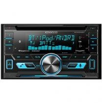 Som Automotivo Kenwood DPX502BT CD Player - Bluetooth MP3 Rádio AM/FM USB Auxiliar