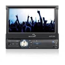 Som Automotivo MP3 Player Touch Screen Retrátil GPS Entradas USB/Aux/SD - P3211 - Neutro - Multilaser