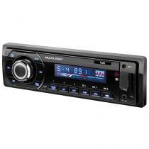 Som Automotivo Multilaser Talk Rádio FM Bluetooth Entradas USB SD e Auxiliar P3214 - Preto - Multilaser