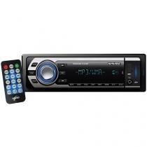 Som Automotivo Naveg NVS 3066 - com Entrada Auxiliar USB e SD + Controle Remoto