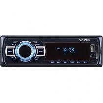Som Automotivo Naveg NVS 3068 - MP3 Player USB Entrada SD e Auxiliar