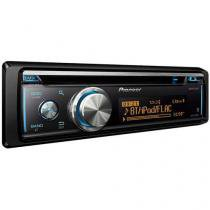 Som Automotivo Pioneer DEH-X8780BT CD Player - Bluetooth MP3 Player Rádio AM/FM Entrada USB