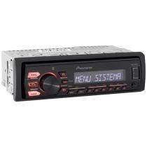 Som Automotivo Pioneer MVH-288BT Bluetooth - MP3 Player Entrada USB/Auxiliar