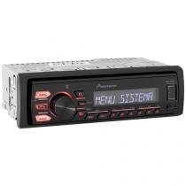 Som Automotivo Pioneer MVH-288BT Bluetooth - MP3 Player Rádio AM/FM Entrada USB Auxiliar